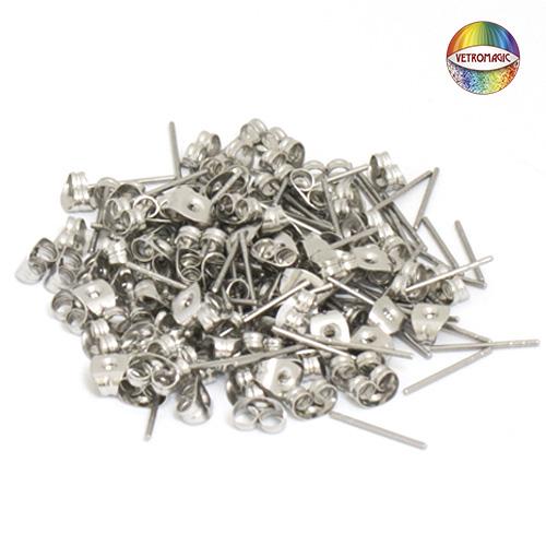 stud earrings surgical steel vetromagic en